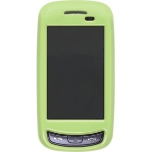 New Lime Green Snap-On Case for Samsung A877 Impression