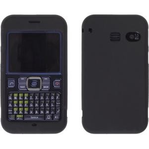 Black Gel Wrap Silicone Case for Sanyo SCP-2700