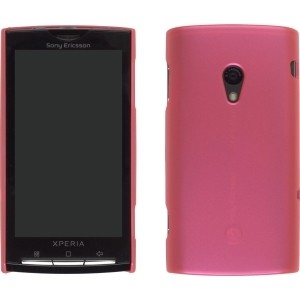 Wireless Solutions Color Click Case for Sony Ericsson Xperia X10 - Salmon Pink