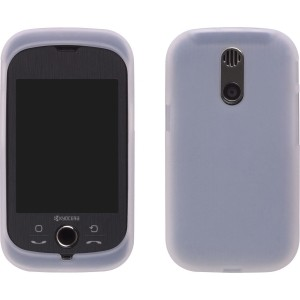 Clear Silicone Gel Case for Kyocera E3100 Tap