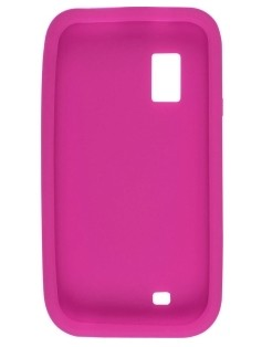 Pink Silicone Case for Samsung I500 Fascinate Mesmorize