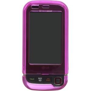 Magenta Snap On Case for LG AX840 UX840 Tritan