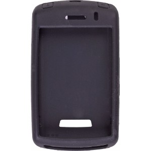 Black Silicone Gel Case for BlackBerry 9500 9530