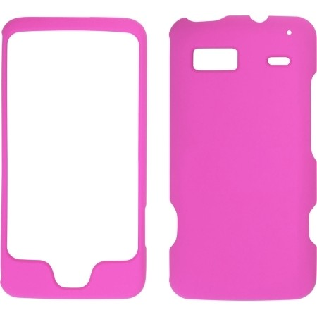 Hot Pink Soft Touch Snap-On Case for HTC G2 Vision