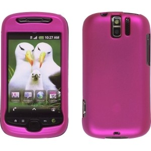 New Pink Soft Touch Snap-On Case for HTC MyTouch Slide