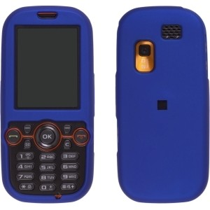 New Blue Soft Snap-On Case for Samsung T469 Gravity 2