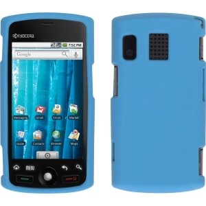 New Blue Silicone Gel Skin Case for Kyocera M6000 Zio
