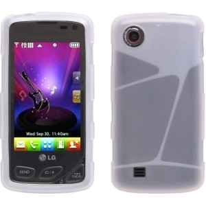 Silicone Gel Case for LG VX8575 Chocolate Touch - Clear