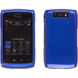 Metallic Sapphire Snap-On Case for BlackBerry 9520 9550
