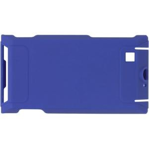 Wireless Solutions Rubberized Snap-On Case for Motorola A555 Devour - Cobalt Blue