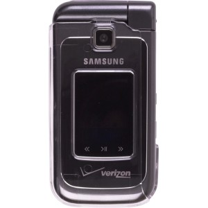 Wireless Solutions Snap-On Case with Belt Clip for Samsung U750 Alias 2 - Clear