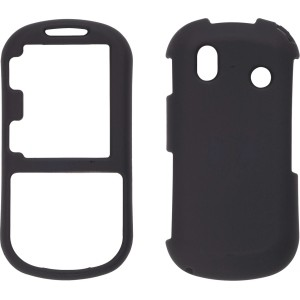 Black Soft Touch Snap-On Case for Samsung U460