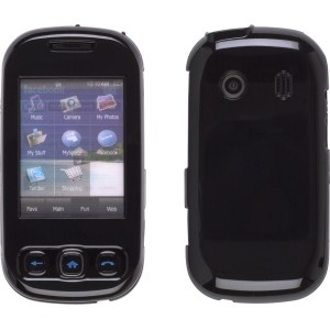Two Piece Snap-On Case for Samsung M350 Seek - Black