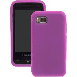 Pink Silicone Gel Case for Samsung A867 Eternity