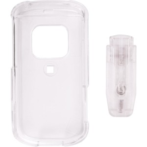 Clear Snap On Belt Clip Case for Palm Treo Pro