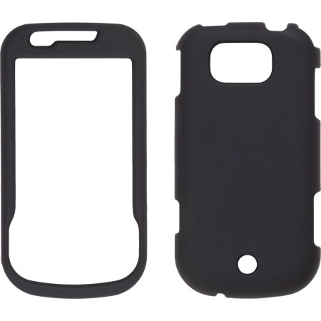 Black Soft Touch Snap-On Case for Samsung R880 Acclaim