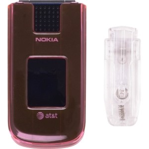 New Pink Snap-On Case w/ Belt Clip for Nokia 2720