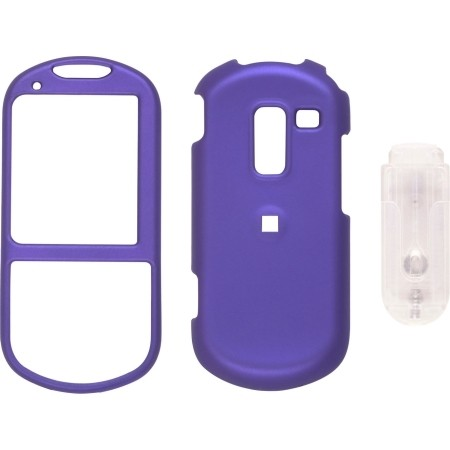 Blue Soft Touch Snap-On Case for Samsung M570 Restore