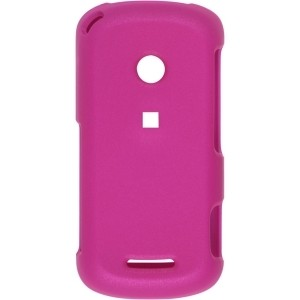 New Rubber Pink Snap-On Case for Motorola W835 Crush