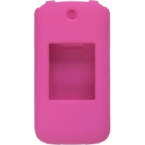 Wireless Solutions Soft Touch Snap-On Case for LG Wine 2 UN430 - Pink