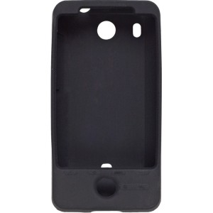 Wireless Solutions Gel Wrap Silicone Case for HTC Hero, Black