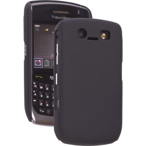 Black Shell Color Click Case for BlackBerry 8900