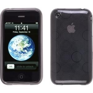 Smoke TPU Dura-Gel Case for Apple iPhone 3G 3GS