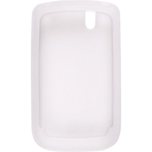 Clear Silicone Gel Case for BlackBerry 9630 9650