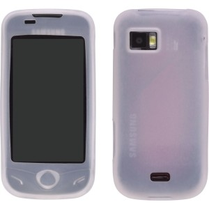 Clear Gel Silicone Case for Samsung A897 Mythic