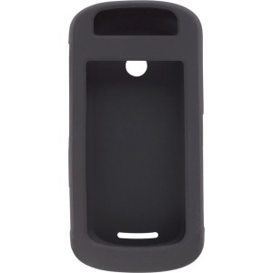 Black Silicone Gel Case for Motorola Crush W835