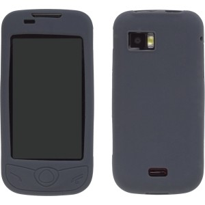Silicone Gel Case for Samsung Mythic SGH-A897 - Slate