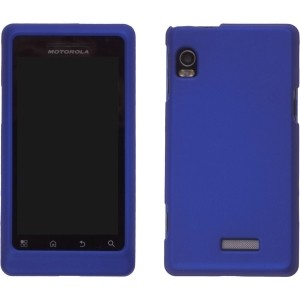 Blue Soft Snap On Case for Motorola A955 Droid 2