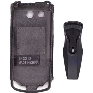 Wireless Solutions Swivel Belt Clip Leather Case for LG CF360