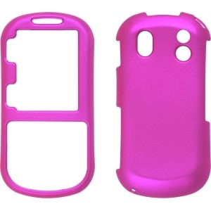 Pink Soft Touch Snap-On Case for Samsung Intensity II