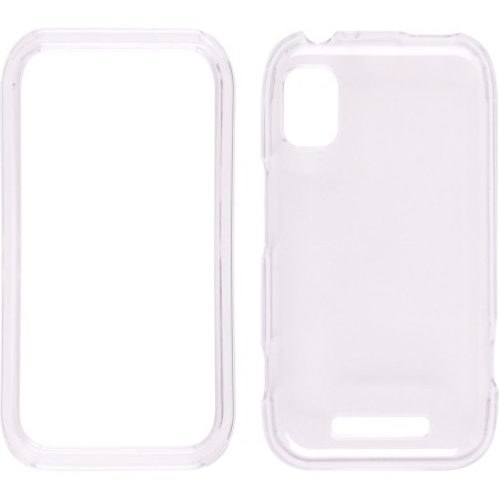 Clear Snap-On Case for Motorola MB508 Flipside