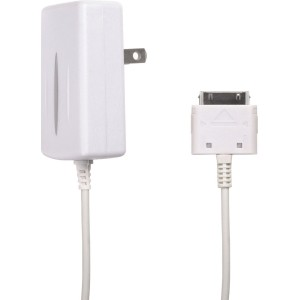 Wireless Solutions 650mAh Travel Charger for Apple iPhone 3G/3GS, iPhone 4/4S and iPod (White)