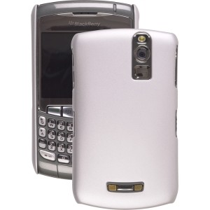 Silver Color Click Case for BlackBerry Curve Series