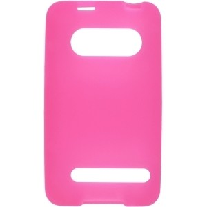 New Textured Pink Silicone Gel Case for HTC EVO 4G 9292