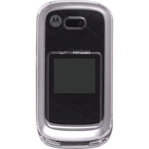 Clear Snap-On Case for Motorola W766 Entice