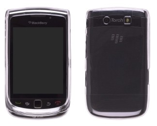 Wireless Solutions Snap-On Case for BlackBerry 9800 Torch - Clear