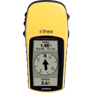 New Garmin eTrex H Handheld GPS Navigation 010-00631-00
