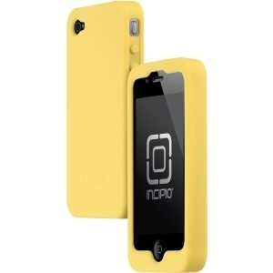 New dermaSHOT Golden Rod Silicone Gel Case for iPhone 4