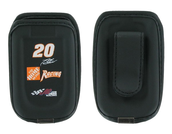 Digicell Nascar Universal Pouch for Flip Phones - Tony Stewart #20 (Black)