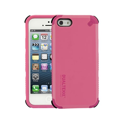 Puregear Dualtek Extreme Impact Case With Screen Protector for Apple iPhone 5 (Pink) - 02-001-01864