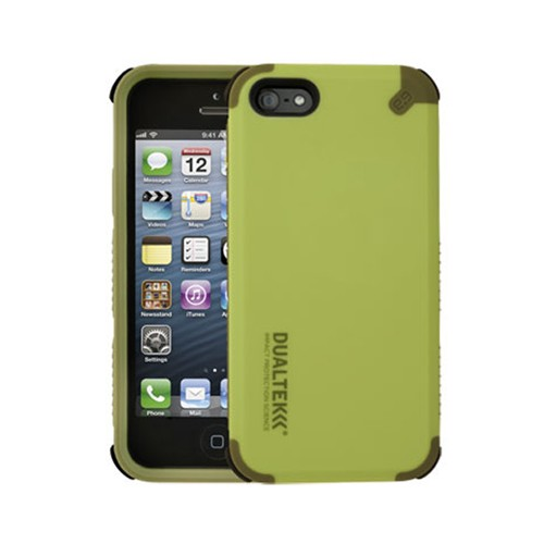 Puregear DualTek Extreme Impact Case with 3M Screen Protector for Apple iPhone 5 (Green) - 02-001-01869