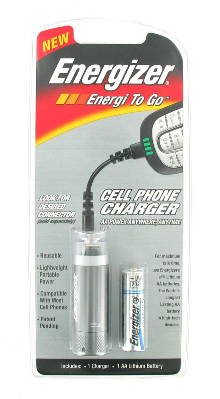 Energizer Energi To Go Cell Phone Charger - 1x AA Battery