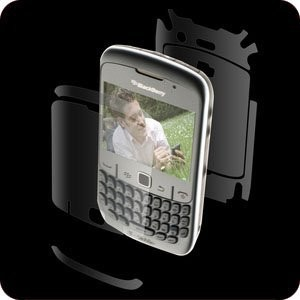 ZAGG invisibleSHIELD for BlackBerry Curve 8520/8530 (Gemini) - Screen and Back Only