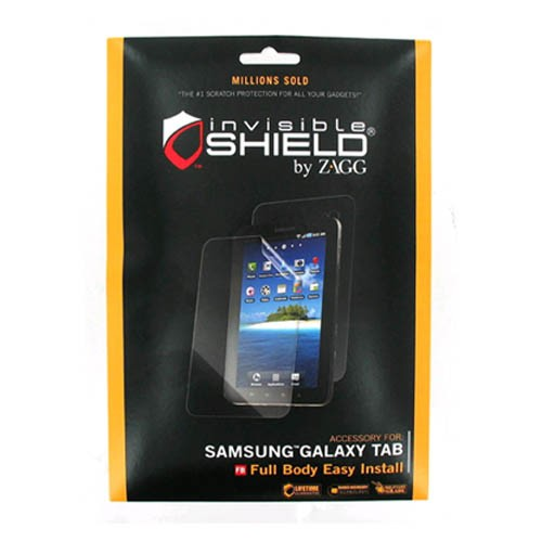 "ZAGG invisibleSHIELD for Samsung Galaxy Tab i800 i987 (7"") - Full Body"