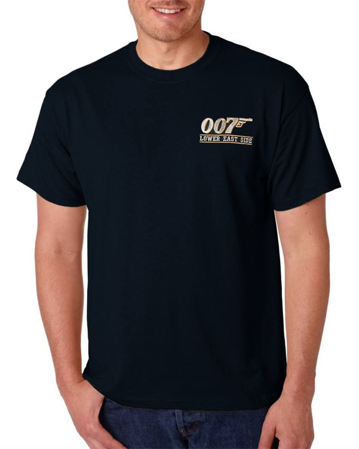 007 Lower East Side t-shirt (Navy)
