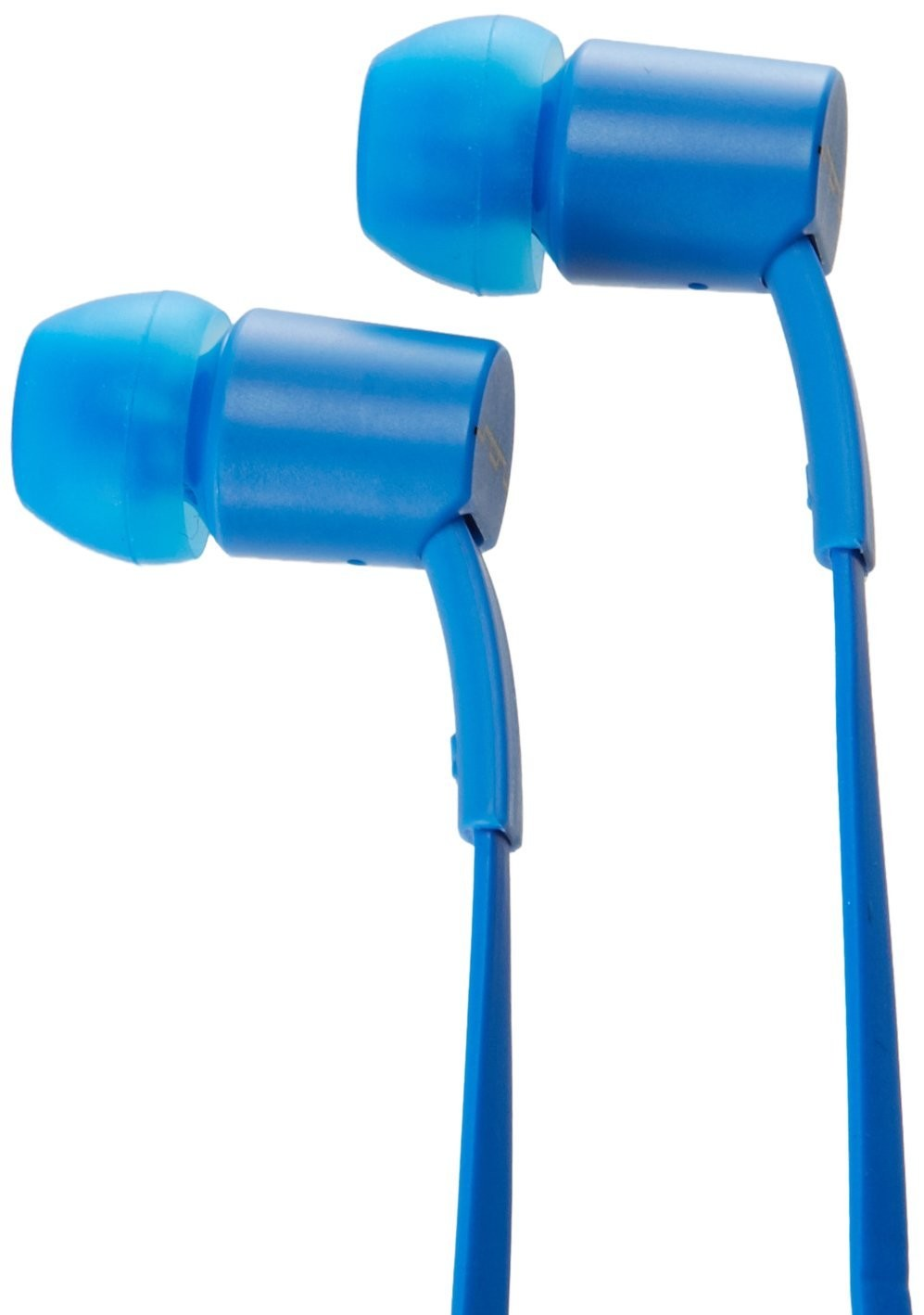 SOL REPUBLIC JAX In-Ear Headphones with 1-Button Mic and Music Control - Electric Blue